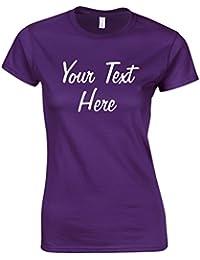 Direct 23 Ltd Personalised Ladies Printed T-Shirt