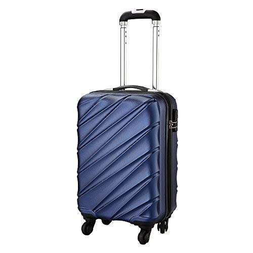 Bagage Cabin Max Tuscany 2.0 Ultra Léger 2.4kg ABS Coque Solide Voyage Transport Bagage Cabine...