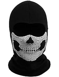 Fantasmas Capuchas Cabeza Esqueleto del Cráneo Máscara Pasamontañas