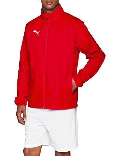 PUMA Herren Liga Core Training Rain Jacket, Red White, M Rot-stopper
