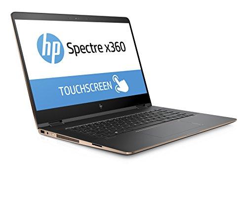 HP Spectre x360 15-bl001na Convertible Laptop (15.6 inch, Ultra HD, Touch-Screen, Intel Core i7-7500U, 16 GB RAM, 1 TB SSD, NVIDIA GeForce 940MX, 2 GB DDR5 Dedicated, Windows 10) - Dark Ash Silver
