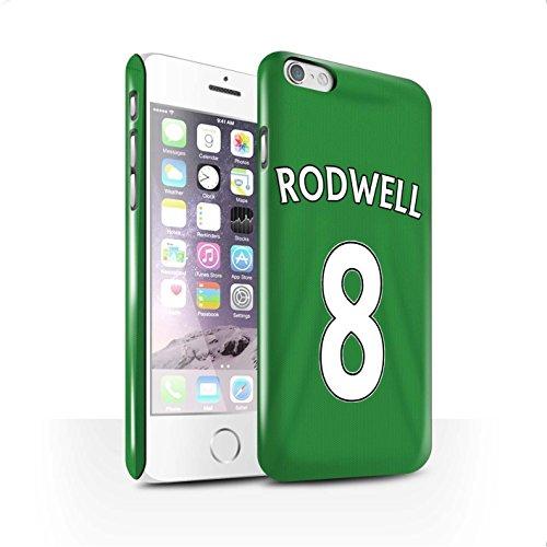 Officiel Sunderland AFC Coque / Clipser Brillant Etui pour Apple iPhone 6 / Pack 24pcs Design / SAFC Maillot Extérieur 15/16 Collection Rodwell