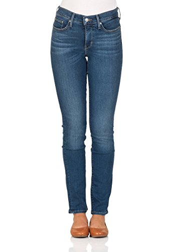 Levis® Damen Jeans 312 Shaping Slim Fit - Blau - Decoy, Größe:W 27 L 34, Farbe:Decoy (0077) (Weiße Levis Hosen)