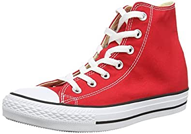 Converse Chuck Taylor All Star, Unisex-Erwachsene Hohe Sneakers, Rot (Red), EU 39.5 EU