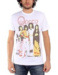 Queen - Camiseta - Hombre - Queen - Band 30/2 Uomo (Camiseta) In Silver, Size: Medium, Color: Silver