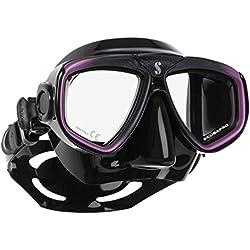 Masque de plongée Scubapro Zoom EVO, noir/violet