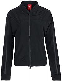 Nike WMNS Bonded Bomber Jacket Jacke Damen Bomber-Jacke Freizeit-Jacke  Schwarz 804029 010 54bae81a67