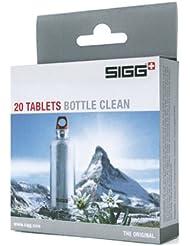 SIGG Bottle Clean - Pastilla potabilizadora, color blanco, talla UK: 20 Tablets