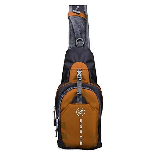 TEBAISE Leichte Rucksack Chest Bag Umhängetasche Daypack Brusttaschen Schultertasche für Damen und Herren für Walking Radfahren Reisen oder Multifunktion