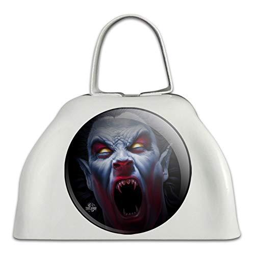 Gruselig Gruselige Vampir-Dämone, Weiß aus Metall, Kuhglocke