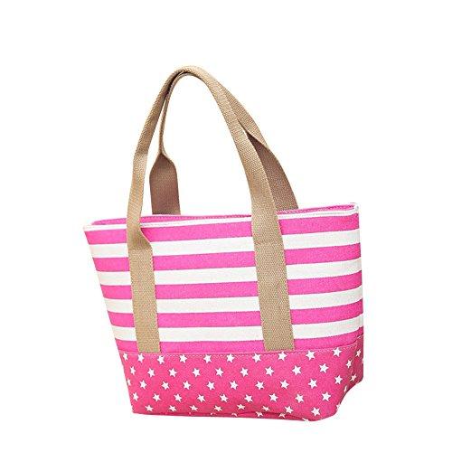 Anliyou Taschen aus Canvas Shopper Damen Segeltuchtasche mit weitem Taschenriemen Colorblock Stofftasche Stoffbeutel Jutetasche Faltbar Tote Bag Schuhltertasche Einkaufstasche