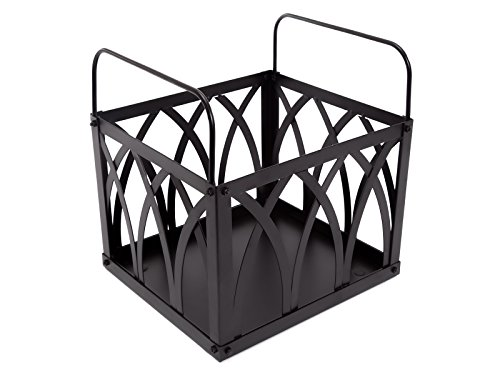 PURLINE Cajón Porta leña EFP13 Negro