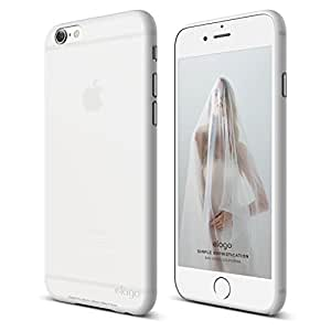 iPhone 6S Case, elago® [Inner Core][White] - [Thinnest Case][Minimalistic][Intended use with Outer Core Case] - for iPhone 6/6S