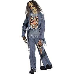 Amscan - 999648 - Disfraz - Niños de Halloween - zombie miedo - 8-10 años