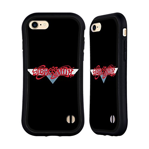 Ufficiale Aerosmith Gradiente Logo 2 Case Ibrida per Apple iPhone 7 Plus / 8 Plus Gradiente
