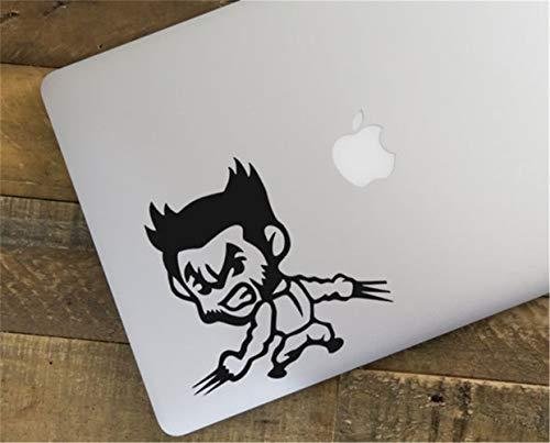 wandaufkleber 3d Aufkleber Marvel X Men Wolverine Windows Autotüraufkleber Car Styling Hugh Jackman Lovely (Wolverine-aufkleber)