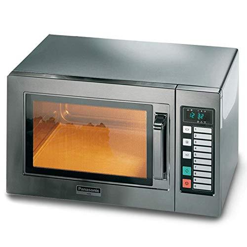Horno microondas digital Panasonic NE 1037 W IEC 1000-10 programas