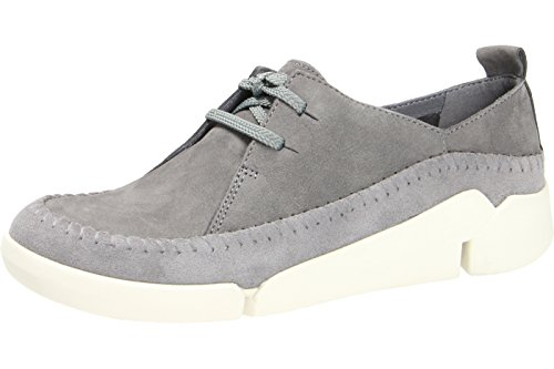 Clarks Tri Angel Damen Sneakers Grau