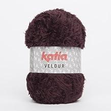 VELOUR von Katia 72 150 m Wolle BURDEOS - 100 g // ca