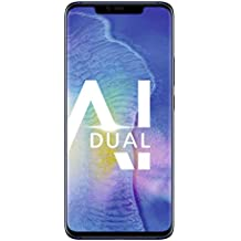 HUAWEI Mate20 Pro Dual-SIM Smartphone Bundle (6,39 Zoll, Künstl. Intelligenz, Leica Triple Kamera, 128 GB interner Speicher, 6 GB RAM, Android 9.0, EMUI 9.0) Blue + gratis USB Typ-C-Adapter [Exklusiv bei Amazon] - Deutsche Version