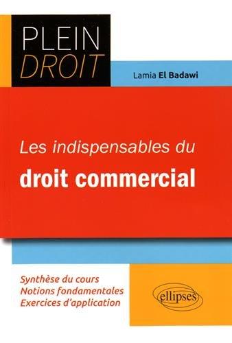 Les Indispensables du Droit Commercial