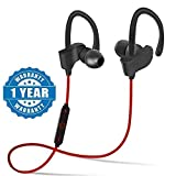 ABOOZA QC-10 Bluetooth Earphone Wireless Headphones for Mobile Phone Sports Stereo Jogger,Running,Gyming Bluetooth