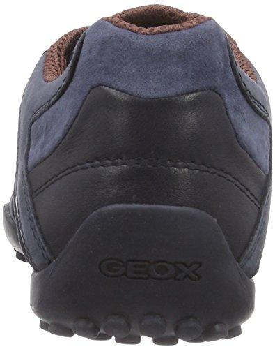 Geox Uomo Snake K, Sneakers Basses Homme Blau (NAVY/STONEC4073)