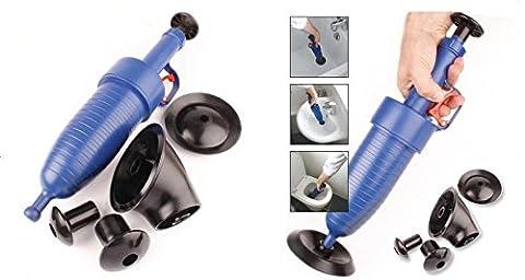 WC Plunger Manuelle Luftpumpe Blaster Verstopfen Entferner für verschiedene Größen von Home Badewanne Abfluss (5Sets)