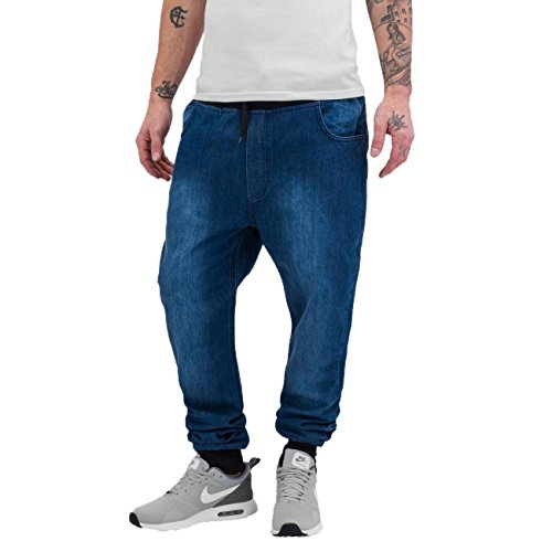 Just Rhyse Homme Jeans / Jeans Straight Fit Jogger Bleu