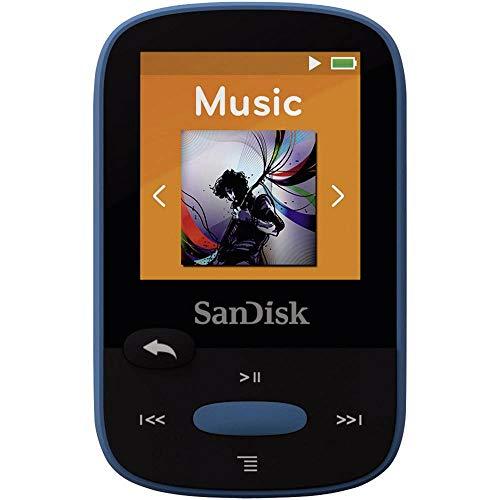 SanDisk Sansa Clip Sports MP3-Speler-4Gb-Zwart (Mp3 Sandisk Sansa Clip)
