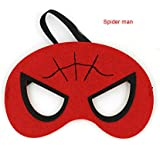 Partysanthe Spider-Man Child Costume Eye Mask/ 1 Piece Spider-Man Child Costume Eye Mask/Cloth Mask
