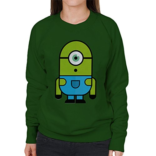 zovsky Despicable Me Monsters Inc Women's Sweatshirt (Monster Inc Sweatshirt)