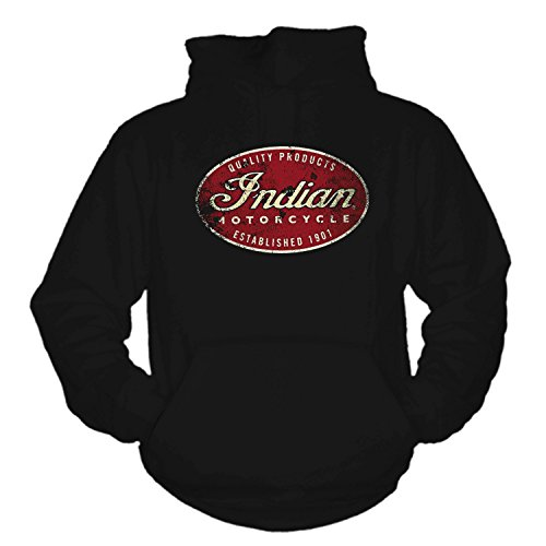 Indian Hoodie (XXL) (Indian Motorcycle T-shirt)