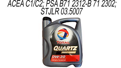 Total TOIN0305 Quartz Ineo First 0W30 5L
