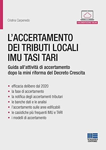 L'accertamento dei tributi locali IMU TASI TARI