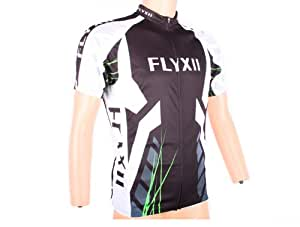Flyxii Short Sleeve Cycling Jersey Bike Clothes Clothing - XXL size