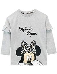 Disney Felpe Senza Cappuccio per Ragazze Minnie Mouse