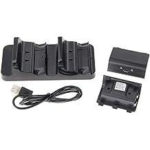 TRIXES Paquete de Batería Dual Recargable Compatible con Controladores Inalámbricos Xbox One
