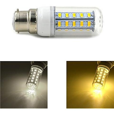 YangR* B22 5W 550lm 3000K-6000K 36x5730SMD LED