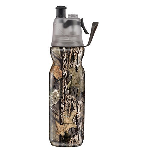 O2COOLÃ'® ArcticSqueezeÃ'® Insulated Mist 'N SipÃ'® Squeeze Bottle 20 oz., Mossy Oak Break-Up CountryÃ'® by O2COOL