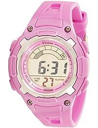 Vizion Digital Multi-color Dial Sports-Alarm-BackLight Watch For Kids-W-8529019-4