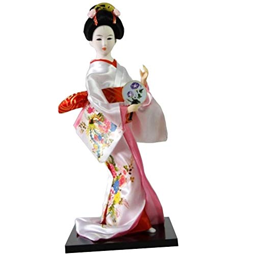 Black Temptation Traditionelle japanische schöne Kimono-Geisha / Maiko Puppe /Geschenke / Deko-A5