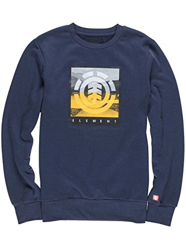 Herren Sweater Element Rolling Crew Sweater eclipse navy