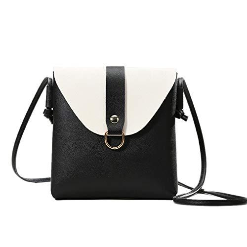Frauen Umhängetasche Schulter-Minitasche Phone Wallet Lotions Handtasche Mädchen PU-Leder verstellbaren Riemen Messenger Bag Regard -