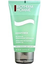 Biotherm Homme Aquapower Gel Douche Rafraîchissant Détoxifiant 150 ml