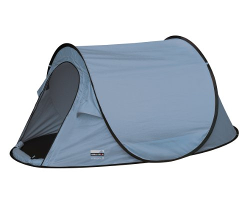 High Peak Pop up Wurfzelt Vision 3, hellblau, 235 x 180 x 100 cm, 10116, 3 Personen