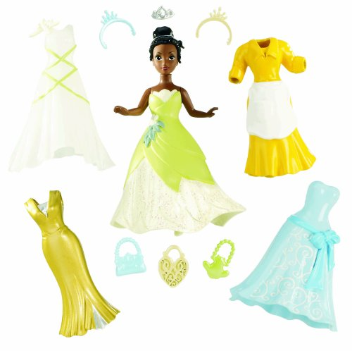 Disney Princess Favorite Moment Mode Play Tiana Puppe (Disney Prinzessin-puppen, Tiana)