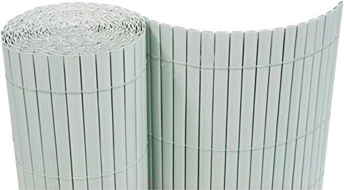 PVC Sichtschutzmatte 160x1000 cm hellgrau