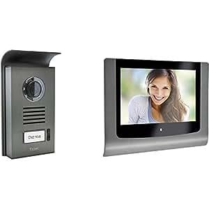 Extel 720216 Levo Visiophone couleur avec 2 fils/moniteur 7\'\' 18 cm ...