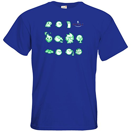 getshirts - Daedalic Official Merchandise - T-Shirt - Silence - Icons Royal Blue